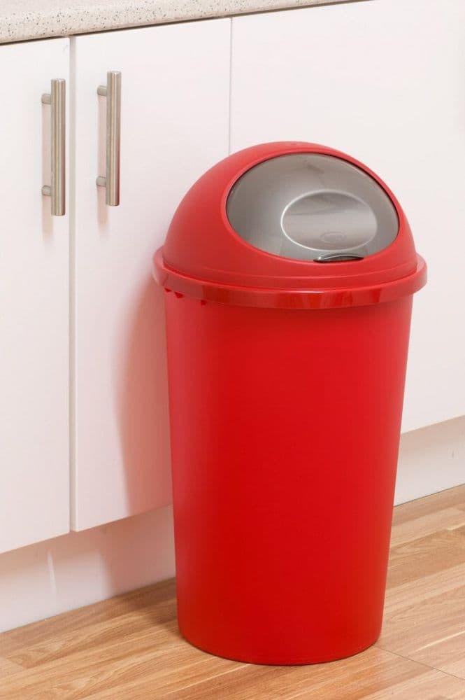 Tontarelli Round Bullet Bin 45L - Red Platinum
